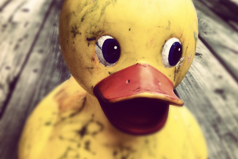 Eine nicht digitale Ente. Foto: Pexels