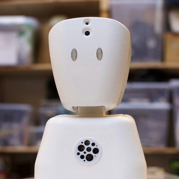 Denne norske roboten skal hjelpe syke barn ut av ensomheten