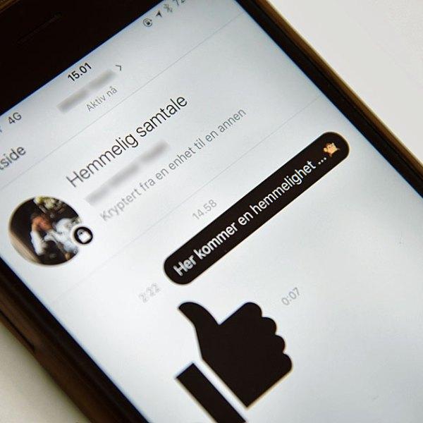 Slik sikrer du Messenger-samtalene dine mot snoking