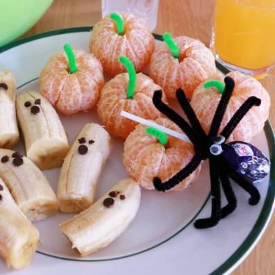 naartjie, clementines, spiders, babanas, ghosts