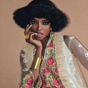 ماريا بورجيس – 26 سنة – هي أشهر عارضة أزياء إفريقية في العالم