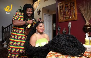 آشا مانديلا صاحبة أطول شعر في العالم
