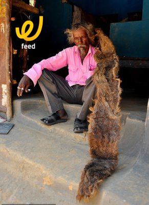 اطول شعر في العالم - شاهد
