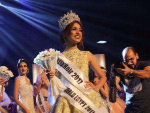 فرح شعبان الفائزة بمسابقة ملكة جمال مصر 2017