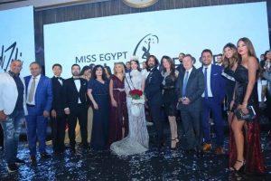 صورة من حفل ختام مسابقة ملكة جمال مصر للكون