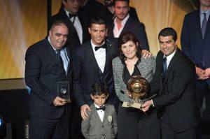 كريستيانو رونالدو والكرة الذهبية