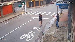 حادث في الشارع