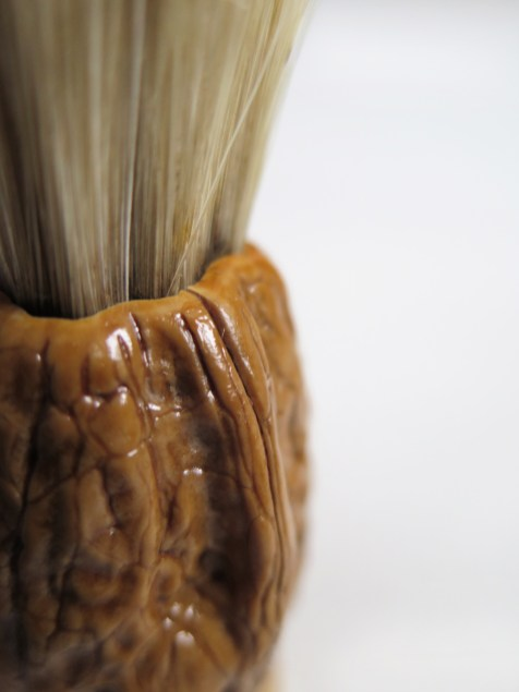 Shaving brush detail