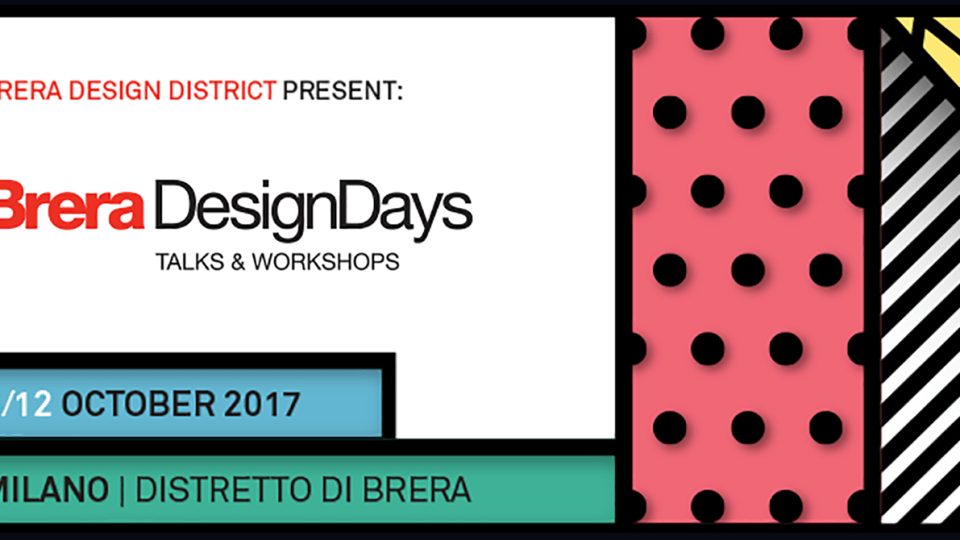 BRERA DESIGN DAYS 2017