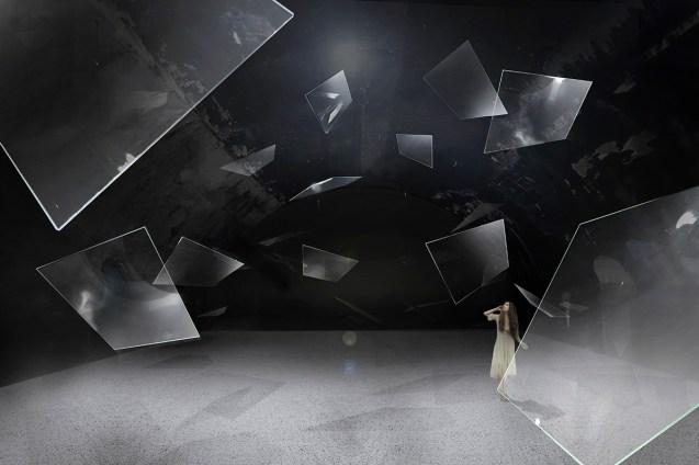 Soundscape by AGC Asahi Glass _ Rendering Courtesy of Mandai Architects
