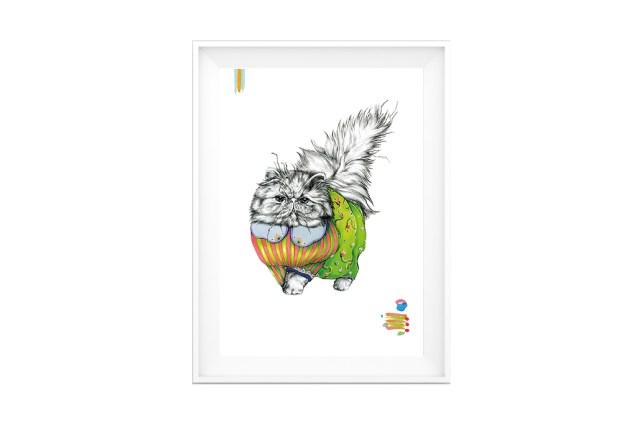Crazy-Animals-Martina-Di-Paolo-Colonna-Poster-House-Design-Group-5
