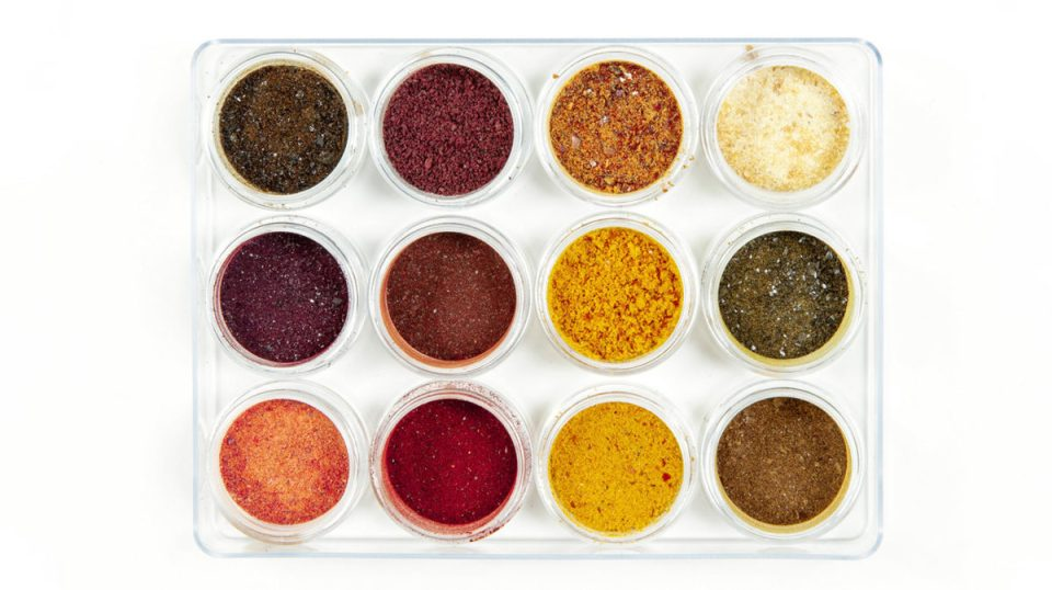 natural color powders
