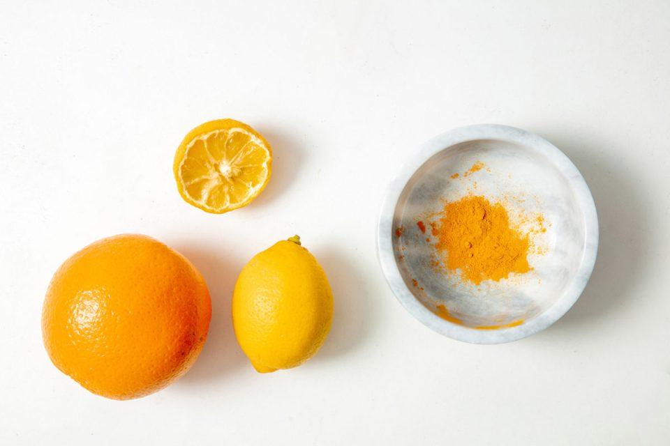 lemon and yello powder