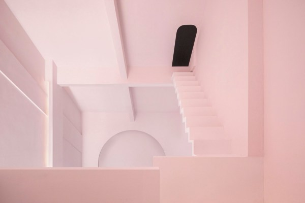 dream by chao zhang, pink interiors