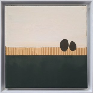 frame 1#2, 2019 - acrilico su tela - 25 x 25 cm