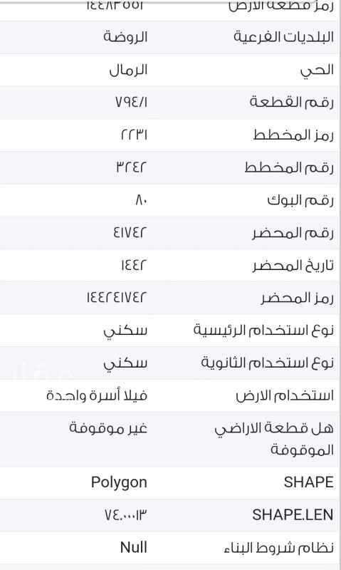 ارض للبيع في حي الرمال في الرياض 300م – بدايه الخبر