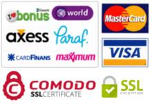Kredi Kartı ve EFT ile Ödeme