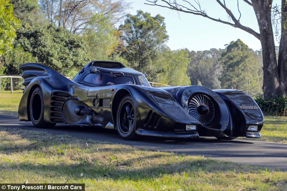 Real Life Batmobile Man Spends Two Years Building Iconic Car