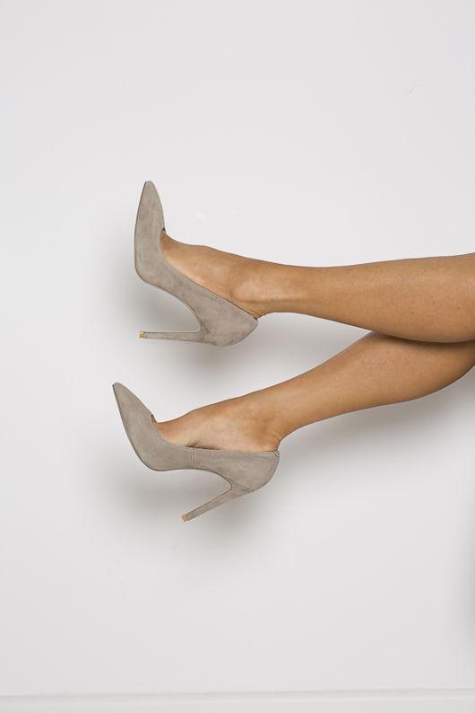 Mink Court Heels