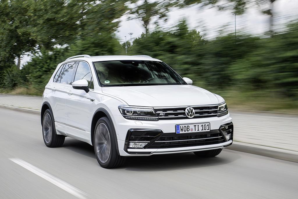 Volkswagen Tiguan receives the German Design Award 2017 - CarsIreland.ie Reviews