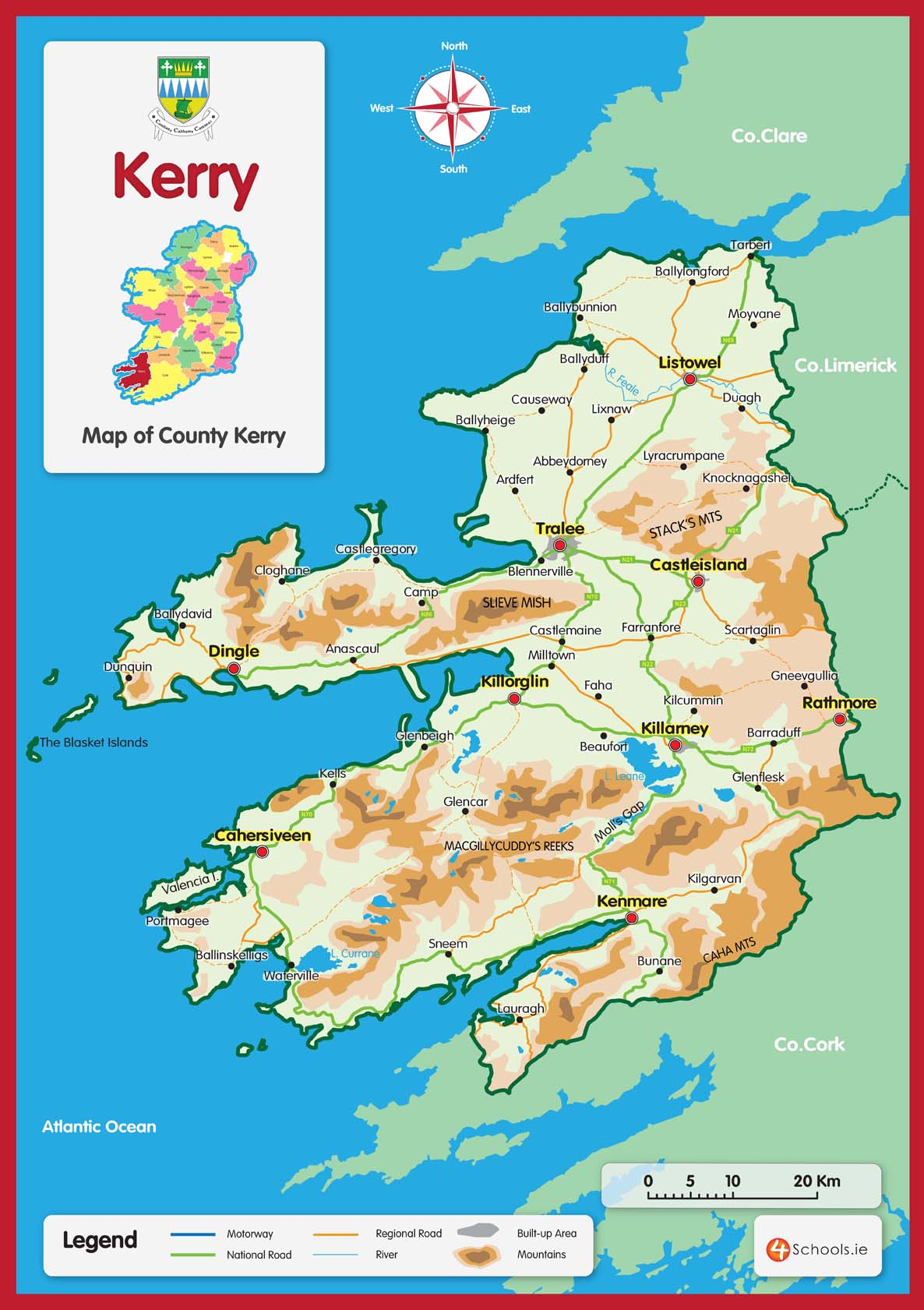 Kerry County Map