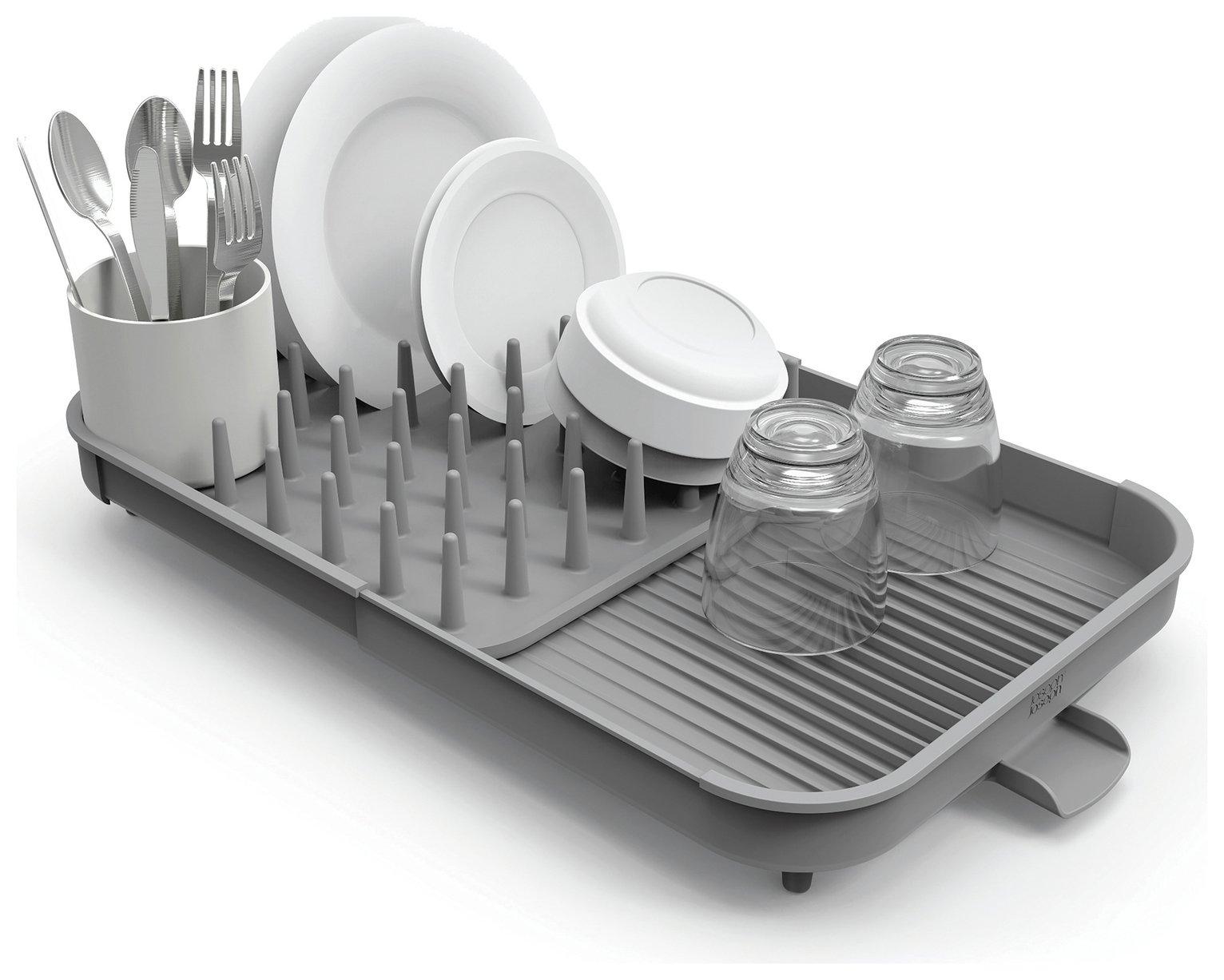 joseph joseph duo expandable dish rack