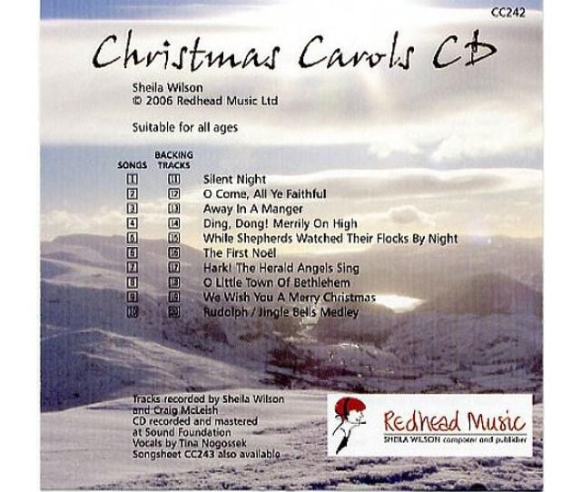 Sheila Wilson Christmas Carols Cd
