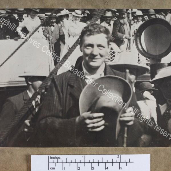Half-length photograph of WSC