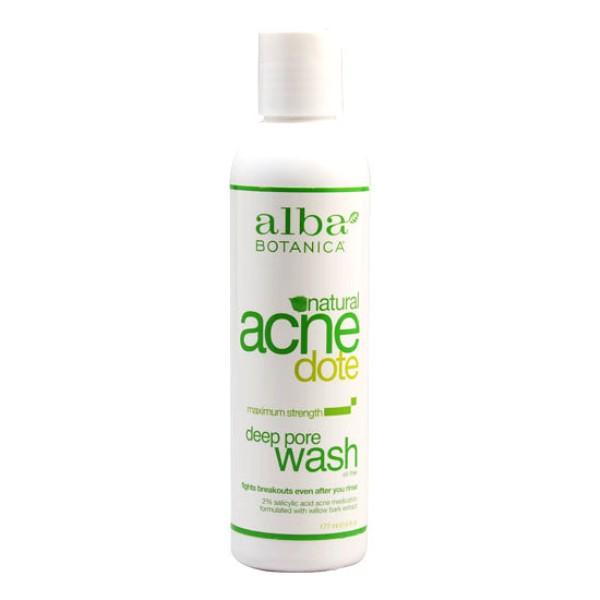 ClioMakeUp-prodotti-skincare-sotto-20-euro-Alba-Botanica-Natural-Acnedote-Deep-Pore-WasH