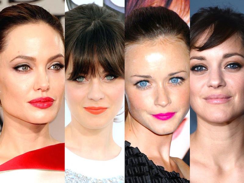 ClioMakeUp,trucco,castana,occhi,azzurri,occhi,labbra,rossetto,