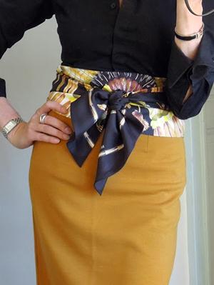 ClioMakeUp-come-indossare-foulard-5-cintura