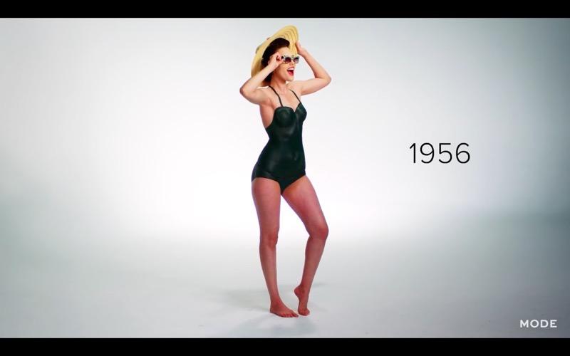 Costumi Da Bagno Anni 80 : Video anni di costumi da bagno con il body painting