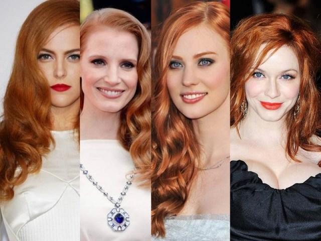 ClioMakeUp-trucco-capelli-rossi-occhi-blu-come-valorrizzarli-colori-occhi-star-a-confronto