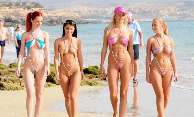 I bikini stravaganti più brutti di sempre: 8 1 costumi osceni!