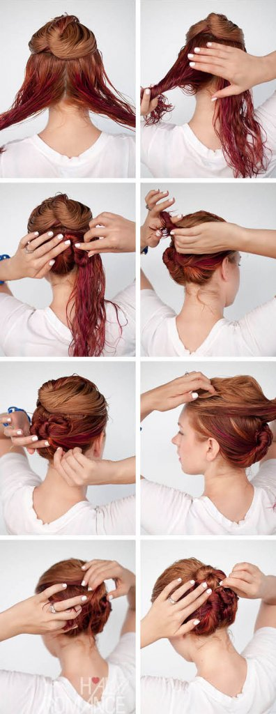 cliomakeup-acconciature-capelli-bagnati-8-doppio-chignon