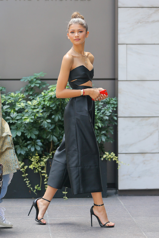 Zendaya spotted looking radiant while arriving into an office building in Midtown, New York City