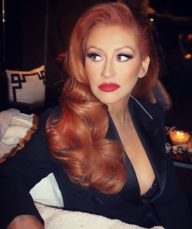 ClioMakeUp-hair-makeover-star-aguilera-rossa
