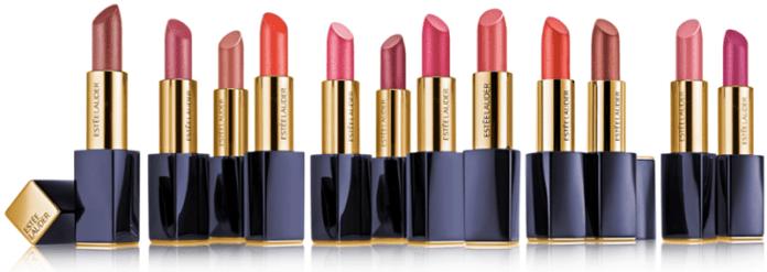 ClioMakeUp-metallico-metallizzato-trucco-makeup-rossetto-labbra-ombretto-smalto-metal-glitter-nuovi-rossetti-Estee-Lauder-Pure-Color-Envy-Hi-Lustre-Light-Sculpting-Lipstick