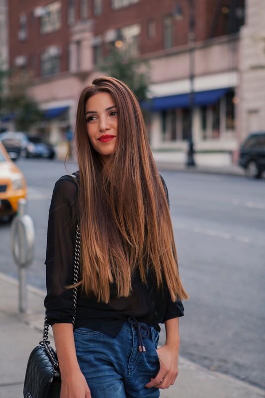 Tagli capelli pari lunghi