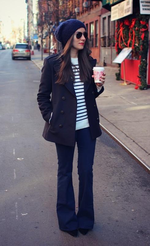 ClioMakeUp-pantaloni-zampa-jeans-flared-giacca