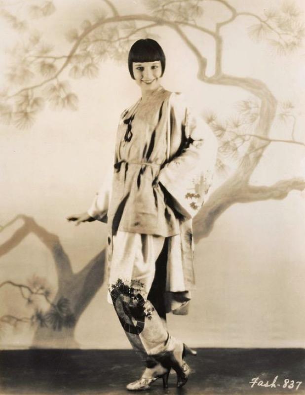 ClioMakeUp-pigiama-vestaglia-chemisier-louise-brooks-vintage