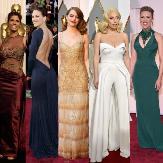 La biancheria strategica sotto gli abiti delle star: ecco i segreti della notte degli Oscar!