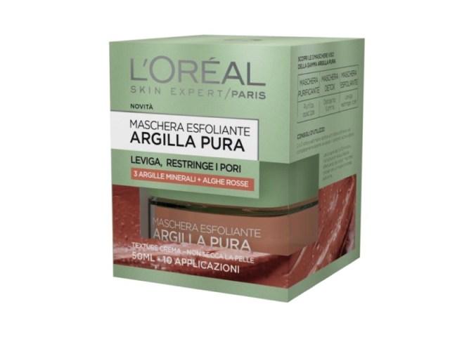 ClioMakeUp-maschere-argilla-pura-loreal-opinioni-recensione-rossa-esfoliante
