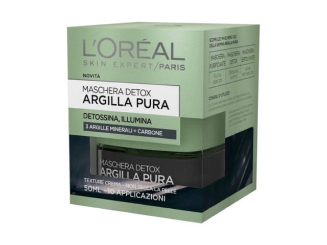 ClioMakeUp-maschere-argilla-pura-loreal-opinioni-recensione-nera-detox