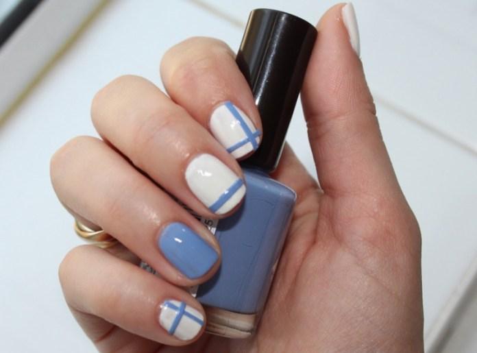 ClioMakeUp-nail-art-unghie-corte-facili-semplici-eleganti-moda-manicure-pois-righe-puntini-20