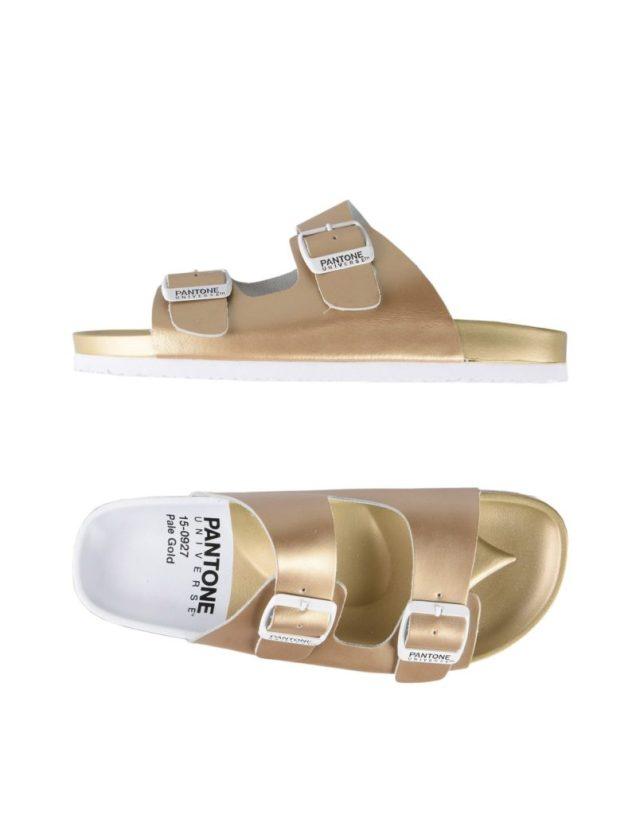 ClioMakeUp-sandali-pool-sandal-pantone-pale-gold