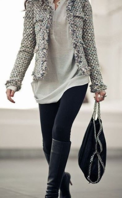 Outfit con i leggings neri: 8 look