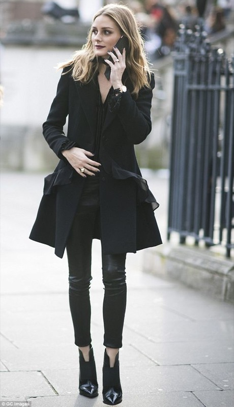 look con i neri copiabili Outfit 8 leggings Xfwfg