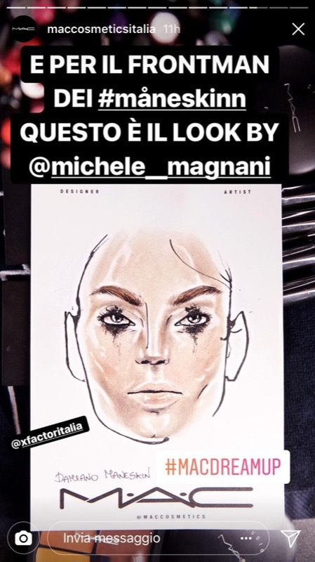 ClioMakeUp-xfactor-makeup-intervista-michele-magnani-mac-cosmetics-face-1