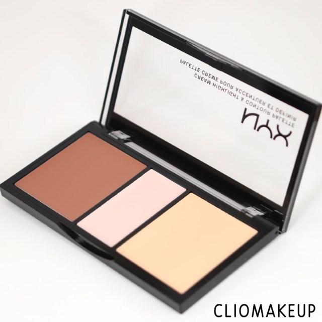 cliomakeup-recensione-cream-highlight-contour-palette-nyx-3